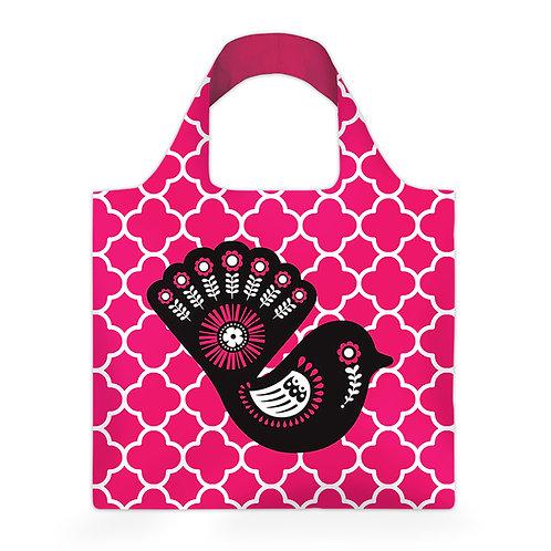 Reusable Carry Bag - Retro Fantail