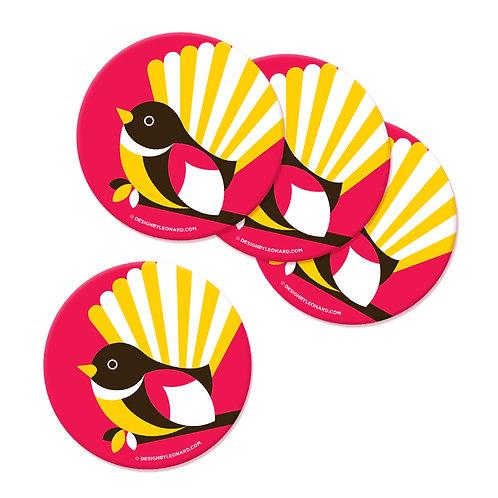 Coaster Set - Iconic Fantail