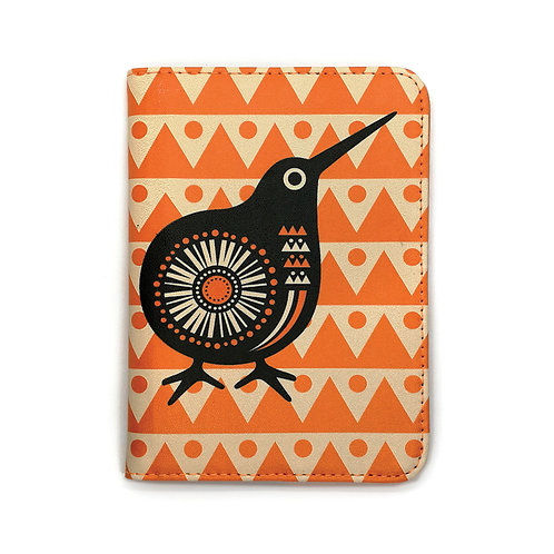 Passport Holder - Retro Kiwi