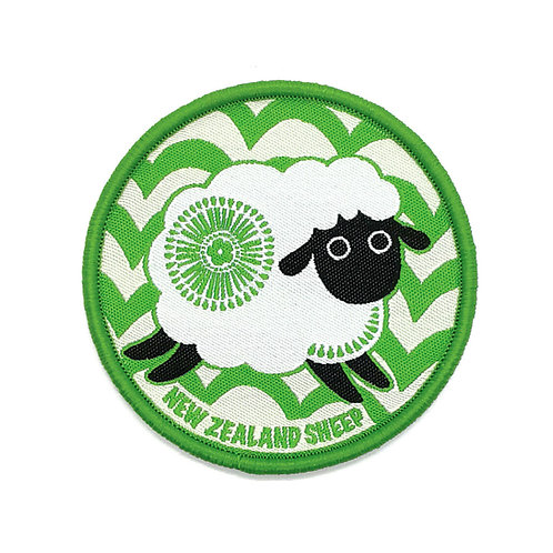 Iron-on Patch - Retro Sheep