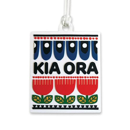 Bag Tag - Kia Ora