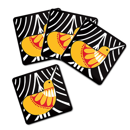 Coaster Set - Scandi Kiwi