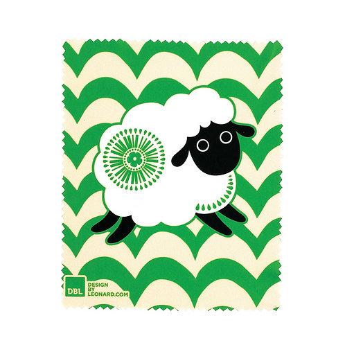 Lens Cloth - Retro Sheep