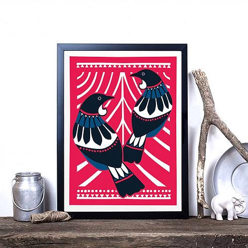 Art Print - Scandi Tui