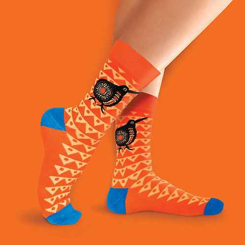 Socks - Retro Kiwi