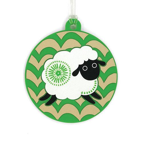 Bag Tag - Retro Sheep