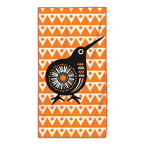Beach Towel - Retro Kiwi