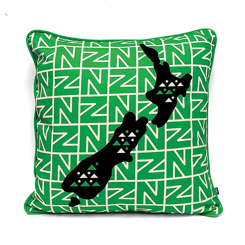 Cushion Cover - Retro Map