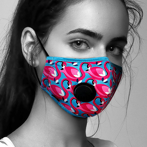Face Mask Anti-Pollution - Flamingo (Available Early Oct)