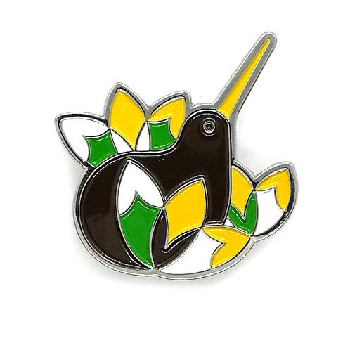 Lapel Pin - Iconic Kiwi