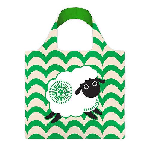 Reusable Carry Bag - Retro Sheep