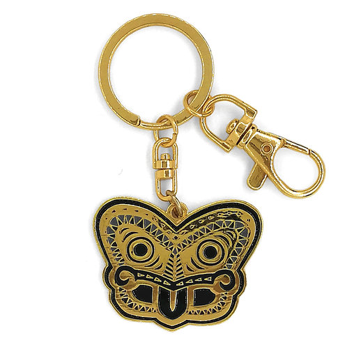 Key Ring - Tiki Gold