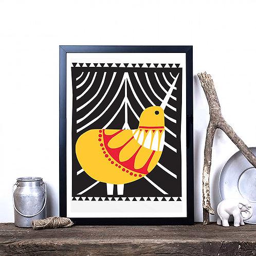 Art Print - Scandi Kiwi