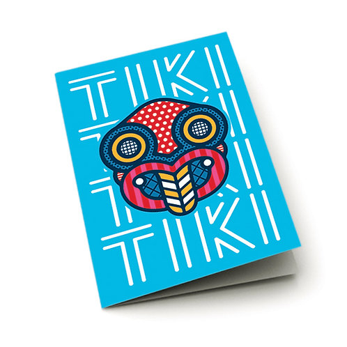 Greeting Card - Pop Tiki