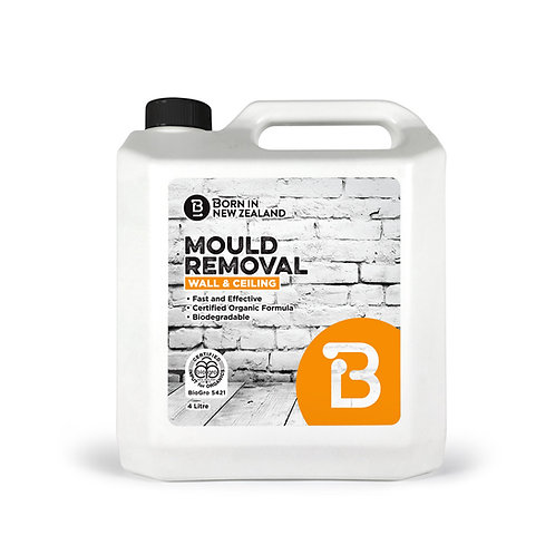4 Litre - BioGro Certifield Wall and Ceiling Mould Removal