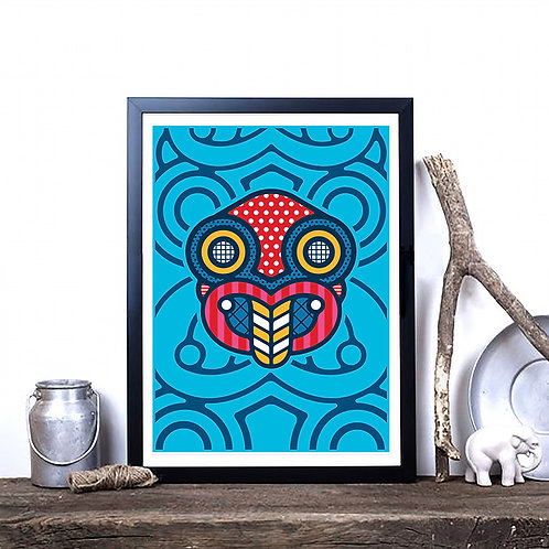 Art Print - Pop Tiki