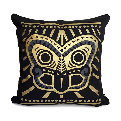 Cushion Cover - Tiki Gold