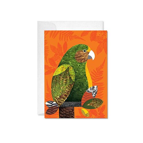 A6 Greeting Card - Kakapo