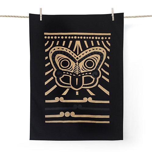 Tea Towel - Tiki Gold