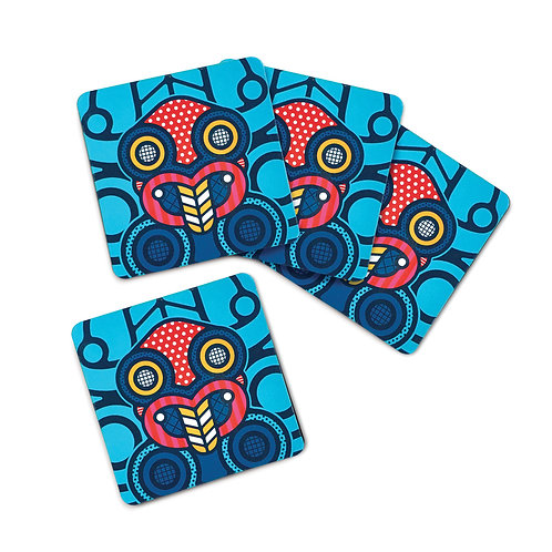 Coaster Set - Pop Tiki