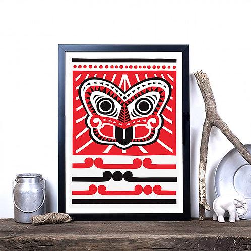 Art Print - Scandi Tiki