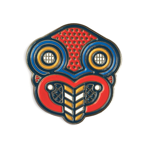 Lapel Pin - Pop Tiki