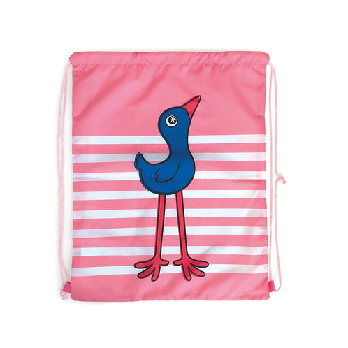 Drawstring Bag - Pukeko Buddy
