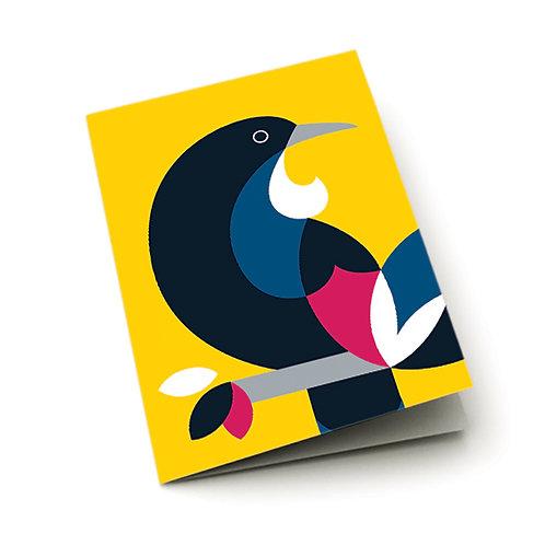 Greeting Card - Iconic Tui