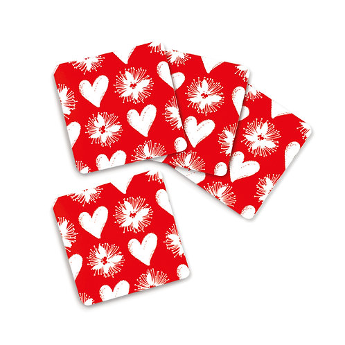 Coaster Set - Love