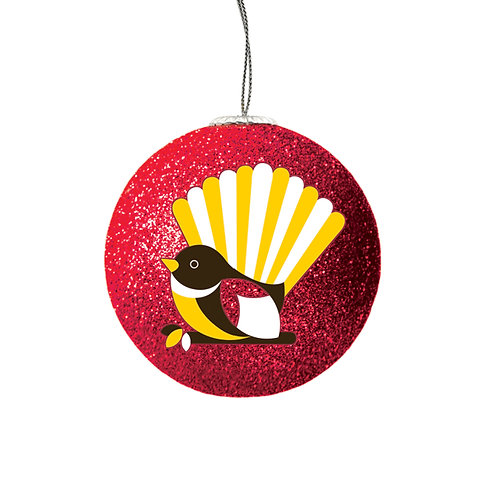 Set of 2 Xmas Bauble - Iconic Fantail