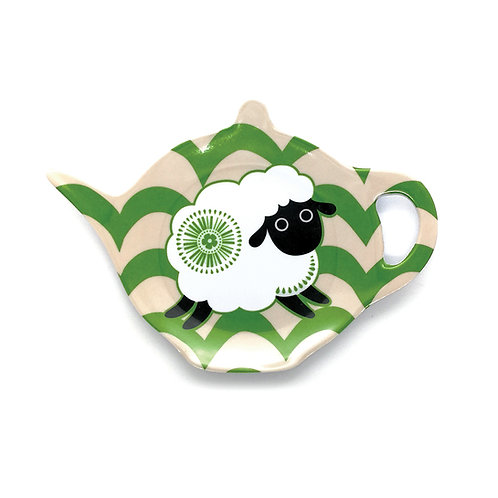 Tea Bag Holder - Retro Sheep