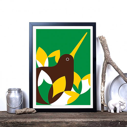 Art Print - Iconic Kiwi