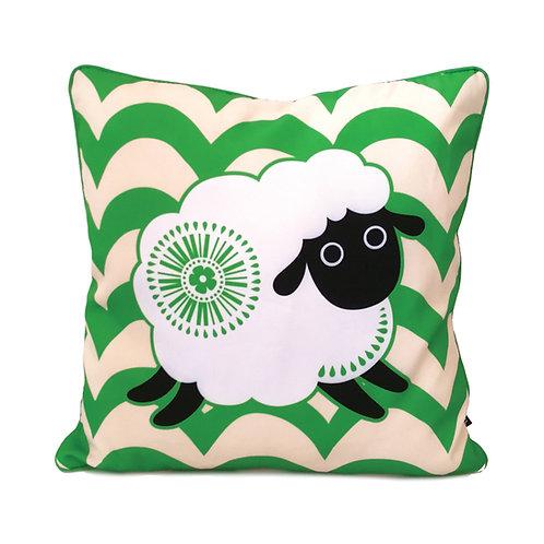 Cushion Cover - Retro Sheep