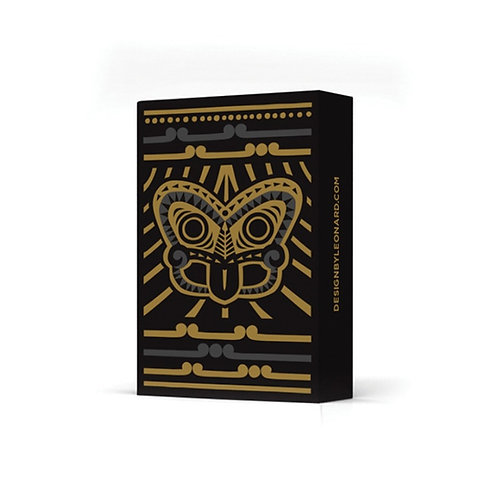 Playing Cards -Tiki Gold