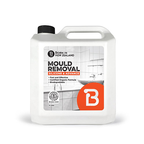 4 Litre - BioGro  Certified  Silicone and Advance Mould Removal