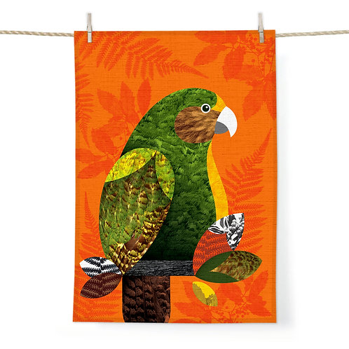 Tea Towel - Kakapo