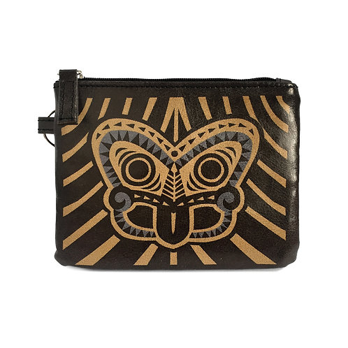 Coin Purse - Tiki Gold