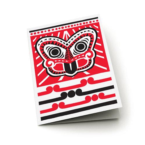 Greeting Card - Scandi Tiki