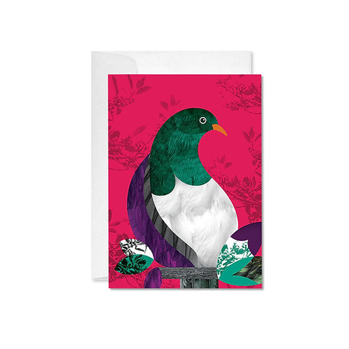 A6 Greeting Card - Kereru