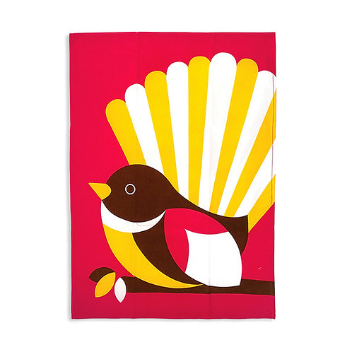 Tea Towel - Iconic Fantail