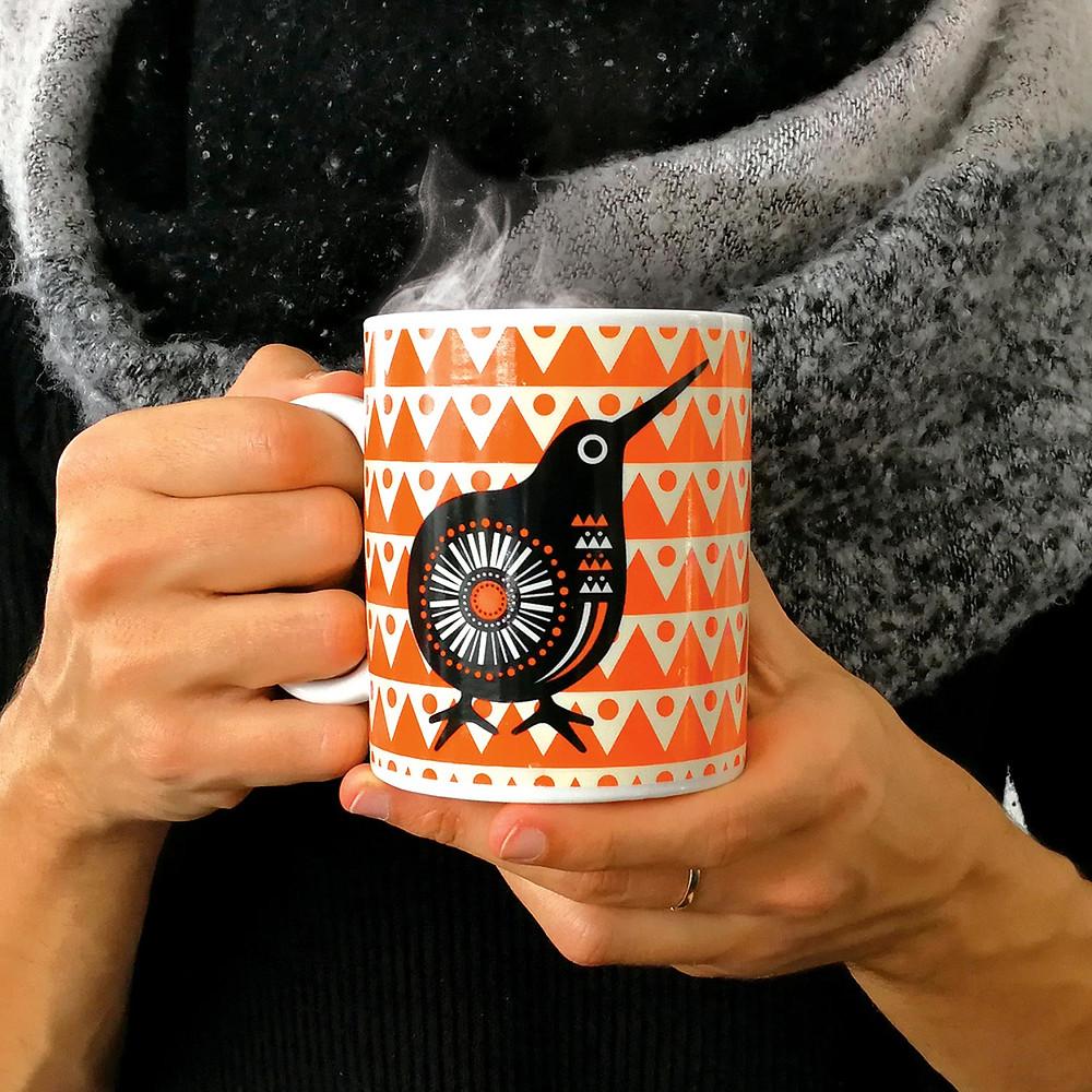 DBL Retro Kiwi Mug
