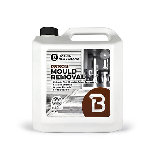 4 Litre - BioGro  Certified  Outdoor Mould Removal