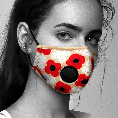 Face Mask Anti-Pollution - Poppy