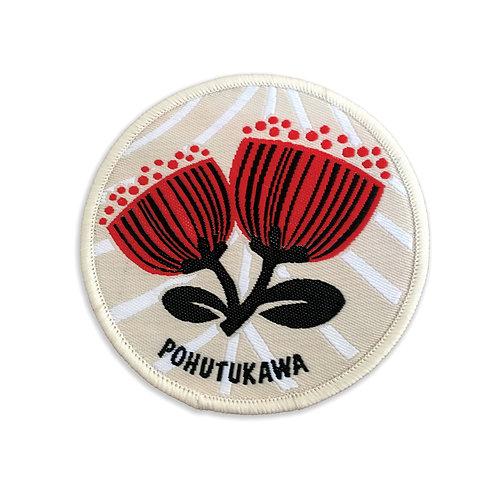 Iron-on Patch - Scandi Pohutukawa