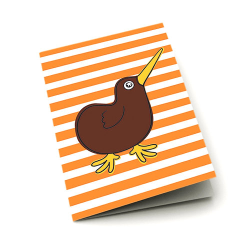 Greeting Card - Kiwi Buddy