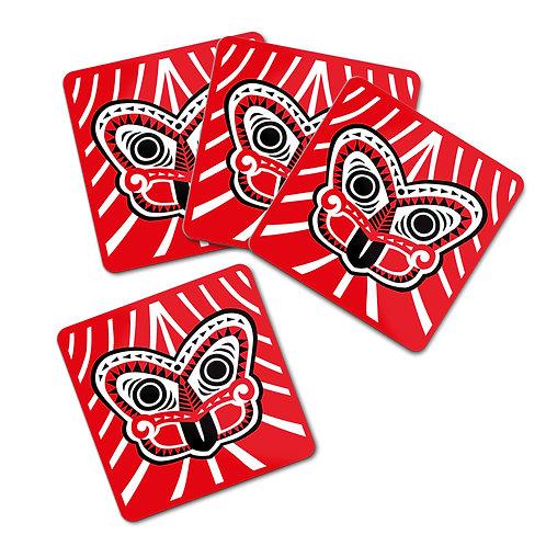Coaster Set - Scandi Tiki