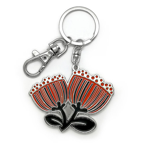 Key Ring - Scandi Pohutukawa
