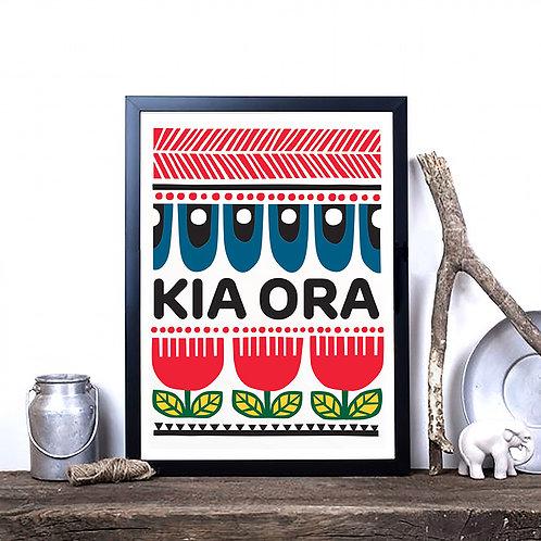 Art Print - Kia Ora