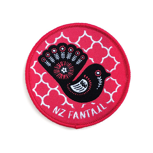 Iron-on Patch - Retro Fantail