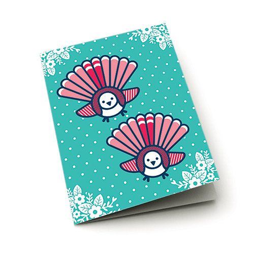 Greeting Card - Pop Fantail